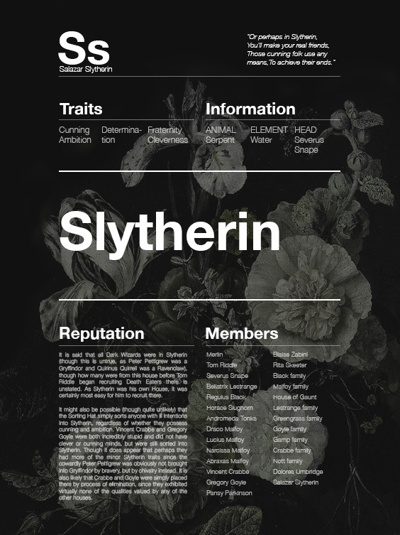 http://i-am-aesthetica.tumblr.com/post/163168771296/hogwarts-houses-slytherin