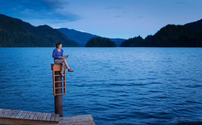 https://500px.com/photo/140650159/japanese-woman-sitting-on-wooden-dock-at-lake-by-gable-denims