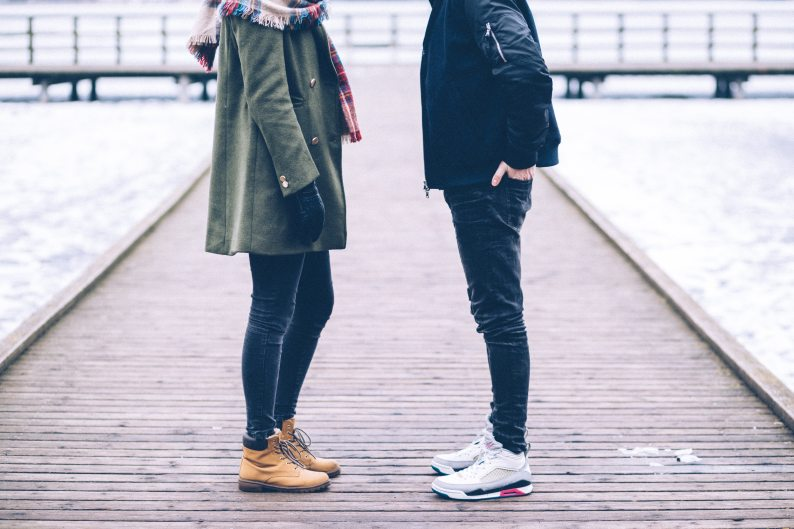 https://www.pexels.com/photo/adult-couple-dock-fashion-349494/